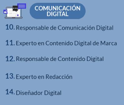 Lista de profesionales de comunicación digital noticiaAMP