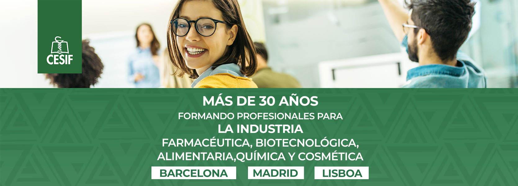 CESIF online - Centro de Estudios Superiores de la Industria Farmacéutica